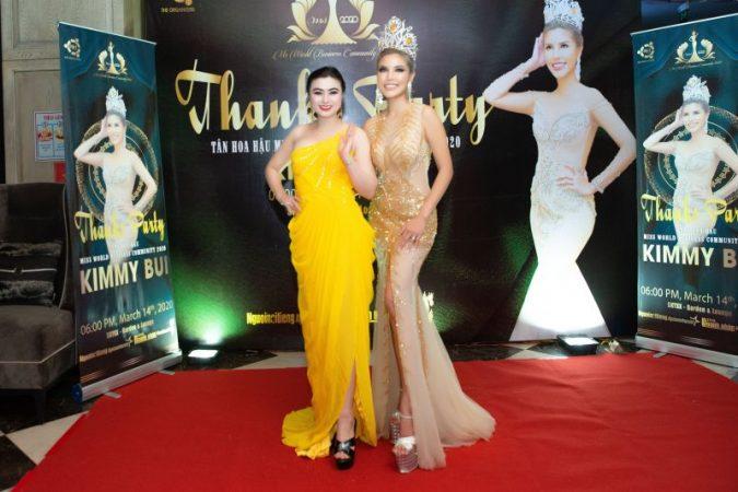 Hoa hậu Diệu Thúy mong muốn tân Hoa hậu Cộng đồng Doanh nhân Thế giới Kimmy Bùi luôn gìn giữ hình ảnh sau đăng quang