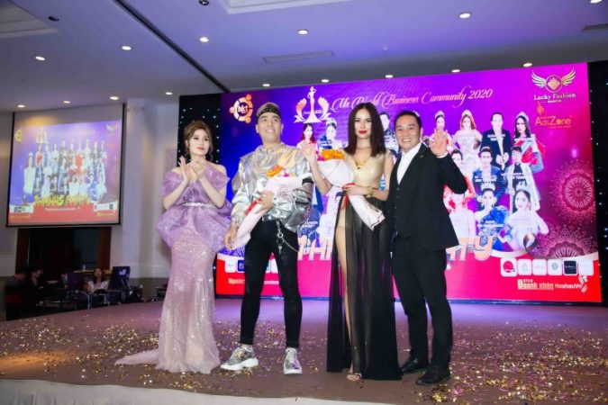 """Sao"" hội ngộ tại Thanks Party Ms World Community Business 2020"