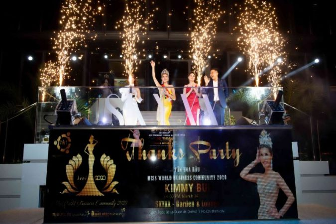 Dạ tiệc Thanks Party tân Hoa hậu Kimmy Bùi: Vui nhộn – chân tình đêm hạnh ngộ