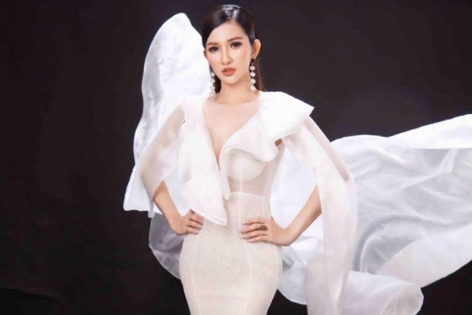 """""""Ngẩn ngơ"""" với vẻ đẹp cuốn hút của thí sinh Ms Universe Bussiness 2020 Nguyễn Thị Thu Thủy"""